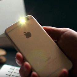 Как включить вспышку на iPhone при звонке, SMS уведомлениях