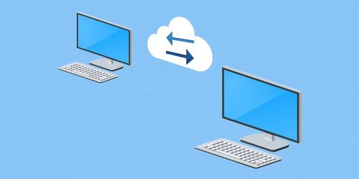 два компьютера