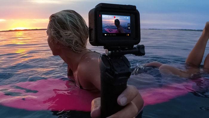 камера в воде