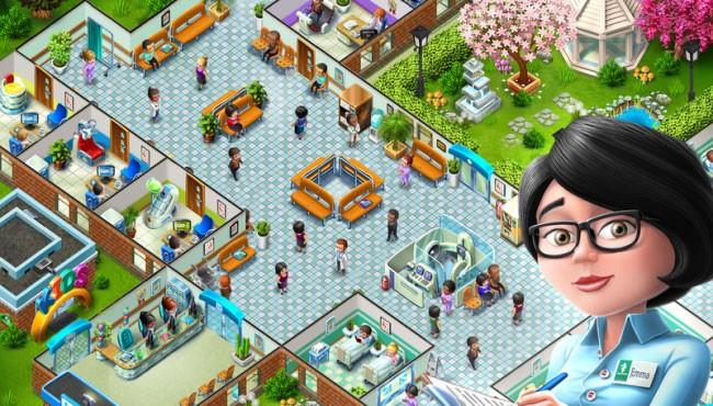 скрин игры Мой госпиталь