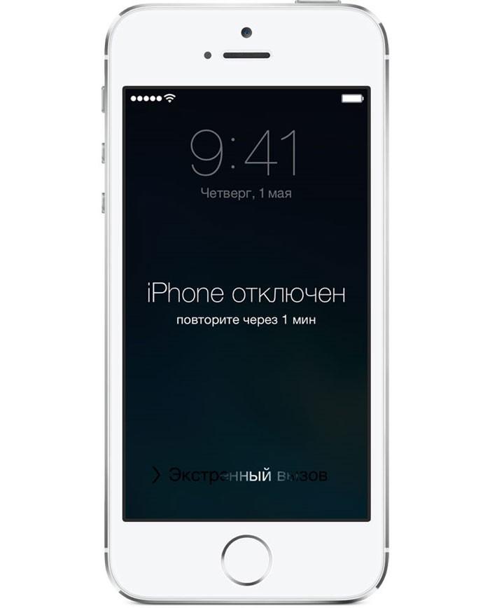 Айфон отключен картинки последнее время