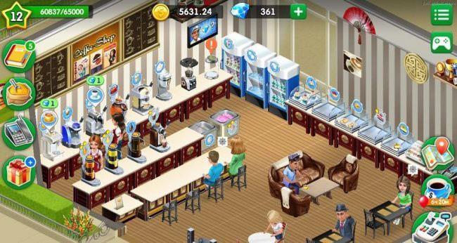пример открытого кафе
