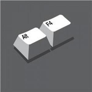 кнопки Alt+F4
