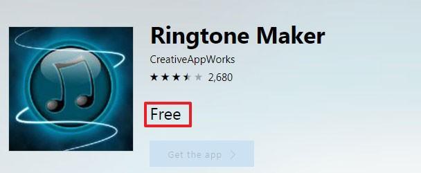 бесплатное приложение Рингтон Мэйкер