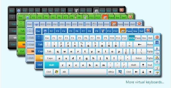 образцы доступных клавиатур