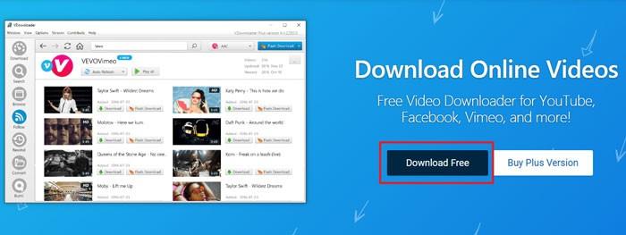 клавиша Download Free