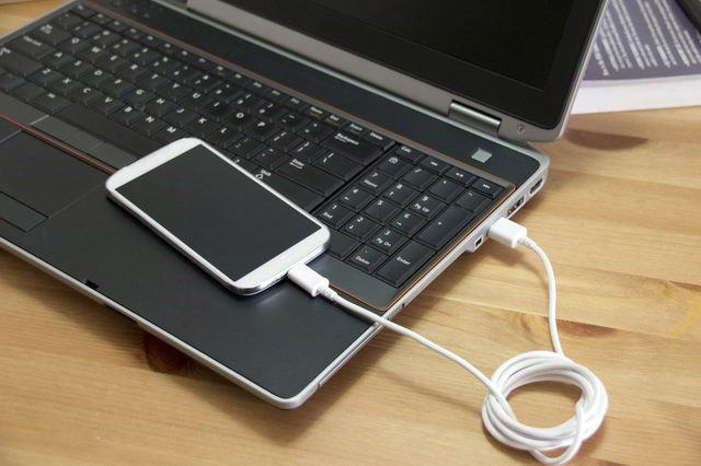 подключение смартфона к ПК