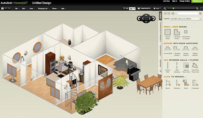 макет дома в трехмерном изображении