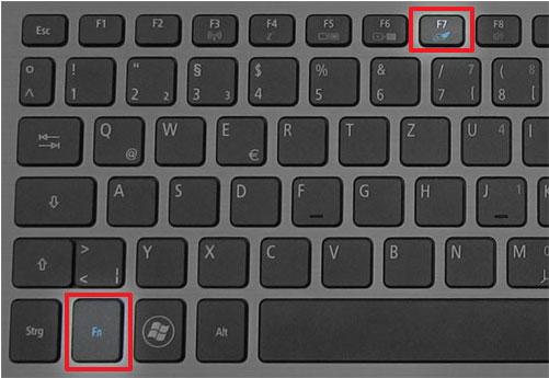 кнопки деактивации в Асер