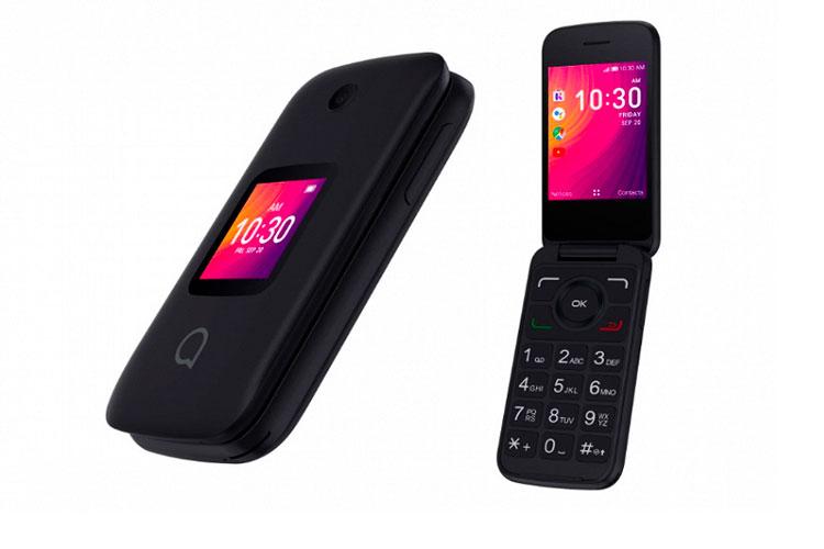 Кнопочный смартфон Go Flip 3