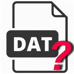 Чем открывать файлы DAT: варианты для всех типов объектов