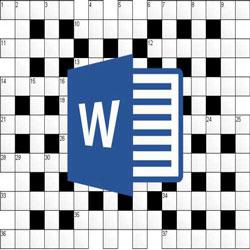 Как сделать кроссворд в редакторе Word