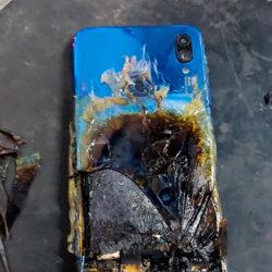 Производитель классно «отмазался» по поводу воспламенившегося смартфона Redmi Note 7S