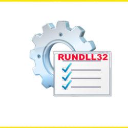 Rundll32.exe что это такое, почему грузит процессор Windows 7