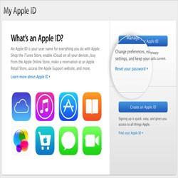 Как Apple ID сбросить пароль на iPhone