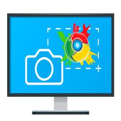 Как сделать снимок экрана в браузере Google Chrome без расширений и программ