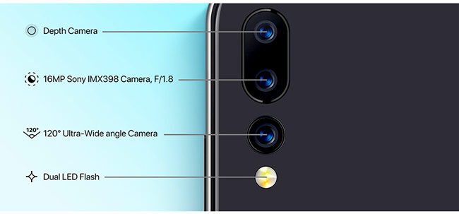 Модуль тройной камеры UMIDIGI A5 Pro